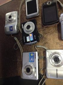Lote De 8 Cameras Digital Para Retirar Peças Lote1