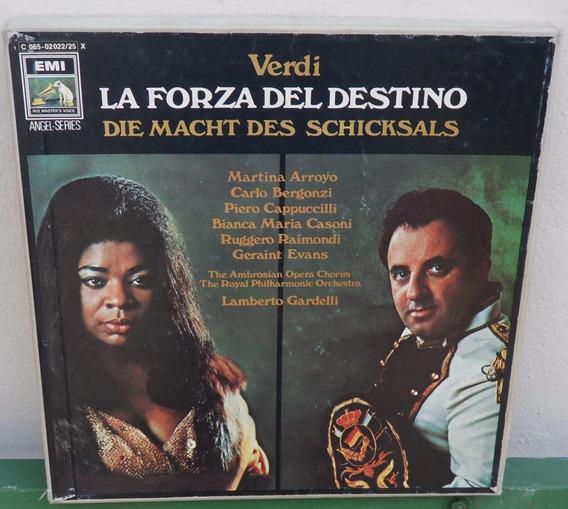 La Forza Del Destino-giuseppe Verdi-box 4 Lps(importado)