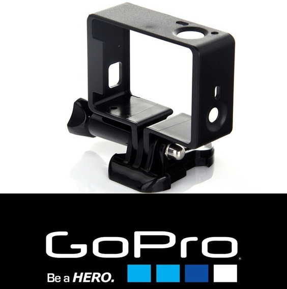 Gopro Suporte Armação Vazada Moldura Frame Hero 3 3+ 4