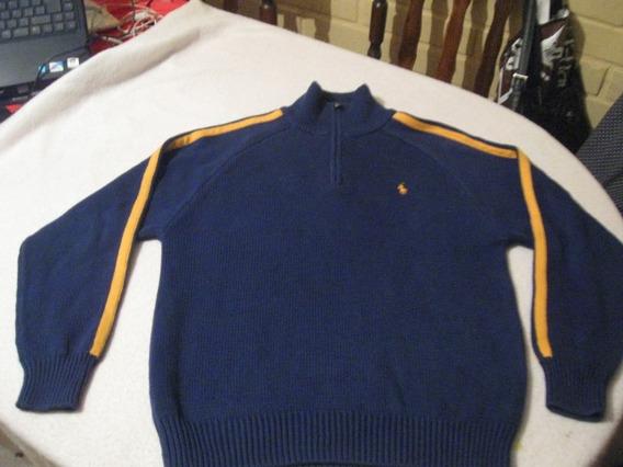 Sweater De Niño Polo De Ralph Lauren Talla M Color Azul