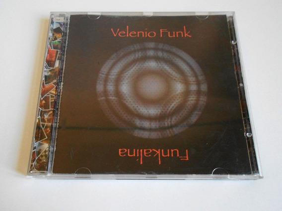 Lote 2 Cds Velenio Funk - Funkalina Y Velenio Funk Cdjess