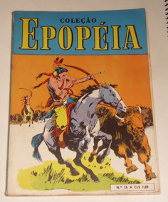 Coleção Epopéia Nº 18 - Ebal - 1970
