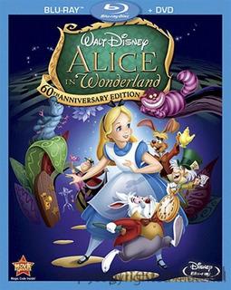 Blu-ray + Dvd Alice In Wonderland / Alicia En El Pais De Las