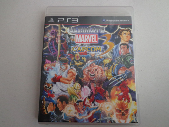 Jogo Ultimate Marvel Vs Capcom Play 3 Original