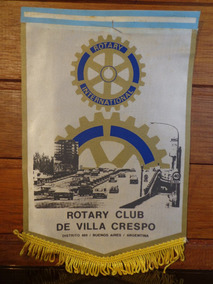 Antiga Flâmula Rotary Villa Crespo - F0148