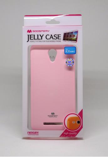 Funda Xiaomi Note2 Mercury Goospery Jelly Case Rosa