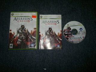 Assassins Creed Ii Completo Para Xbox 360,excelente Titulo.