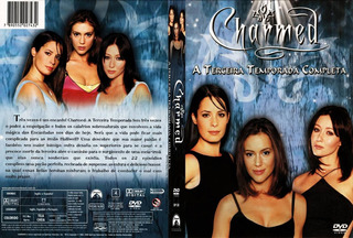 Dvd Charmed - 3º Temporada - Box Novo Encarte Interno