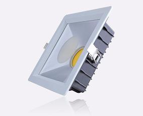Luminaria Embutir Led Cob 30w 2400lm Sala Quarto 15m2 Bivolt