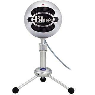 Microfono Condensador Blue Snowball Black Usb Nuevo Vbf