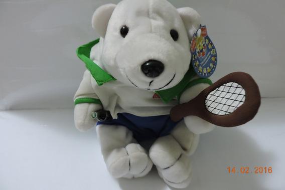 Urso Polar Da Coca-cola (tenista) Com Etiqueta Oferta