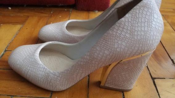 Sapato Social Rosa Claro 37