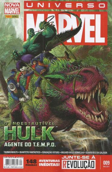 Universo Marvel 9 3ª Serie - Panini - Bonellihq Cx74 G19