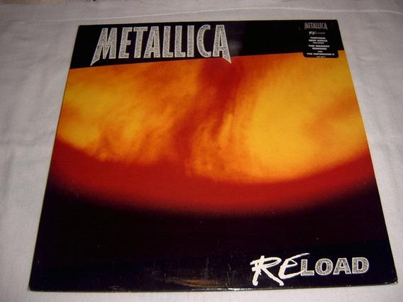 Lp Metallica - Reload Import 1997 Uk Thrash Metal