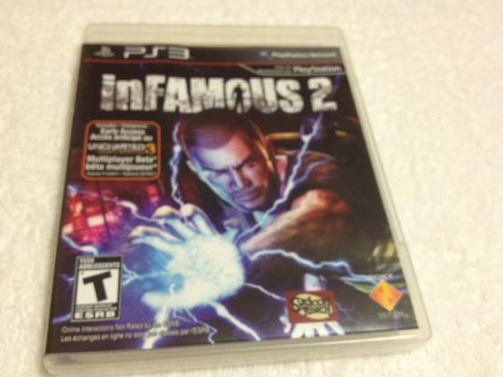 Infamous 2 (sony Playstation 3, 2011) Jogo Exclusivo Da Sony