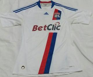 Camisa Lyon 2010 - adidas