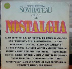 Orquestra Som Bateau Ataca De Nostalgia (lp)