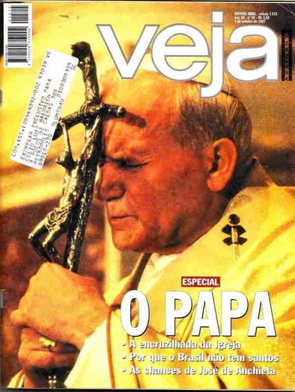 Pr Veja 1515 * Papa João Paulo Ii * Felipe Camargo