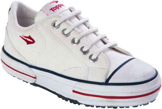 Zapatilla Urbana Topper Nova Low Blanco Kids Nene