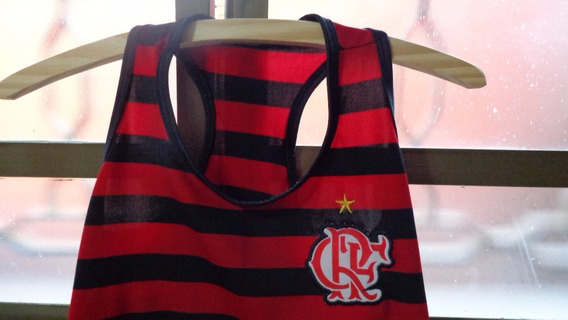 Camiseta Flamengo Feminina Antiga