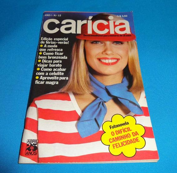 Revista Carícia Ano I Nº 12 Jan 1976 Sérgio Chapelin