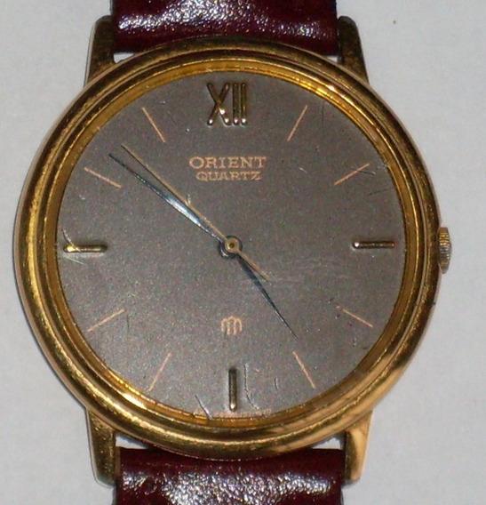 Relógio Orient Dourado - Social - Classico