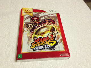 Mario Strikers Charged (nintendo Wii, 2007) Lacrado