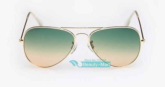 Óculos De Sol Bicolor Fashion Importado Pronta Entrega