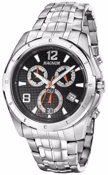 Relógio Magnum Masculino Ma33488t Original C/ Nota