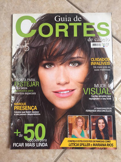 Revista Guia De Cortes Fernanda Vasconcellos Letícia Spiller