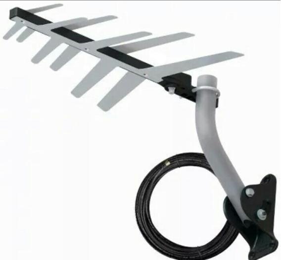 Kit 10 Antenas Externa Digital Aquário Dtv-1500 + Acessórios