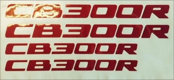 Kit Adesivo Cb 300r