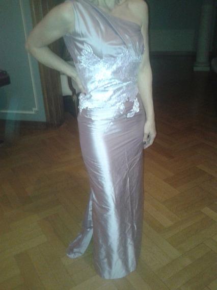 Vestido De Alta Costura Para Fiesta Importado