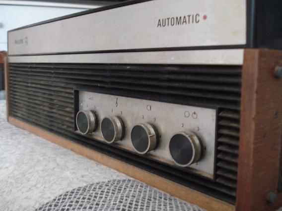 Gravador De Rolo Philips Automatic Raro - Vintage - Ac Troca