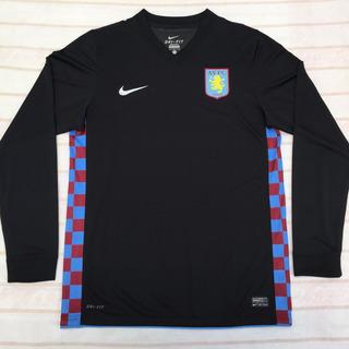 Camisa Nike Aston Villa Away 12/13 G Jogador Original Fn1608
