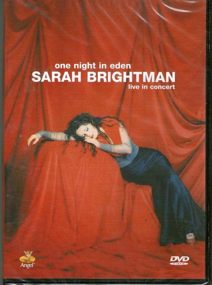 Dvd Sarah Brightman One Night In Eden - Novo Lacrado***