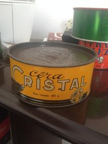 Cera Cristal 490g Raridade Anos 80/90