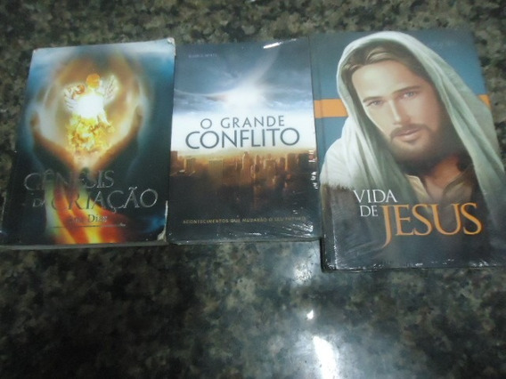 Lote 32 - 3 Livros Biblicos