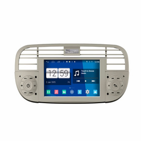 Central Multimidia Fiat 500 Android S160 Wifi Quad Core