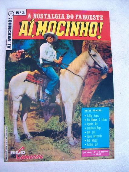 Aí Mocinho! Nº 3 - Bob Colt - 9ª Série - Ebal - 1987