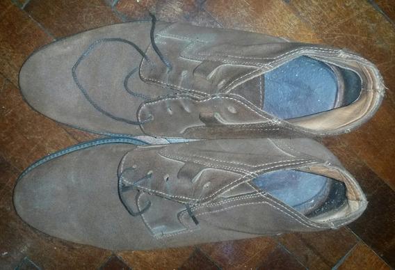 Zapatos Botas De Gamuza
