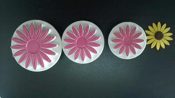 Cortador Inyector De Girasol Para Fondant-porcelana Fria