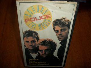 The Police * Around The World * Videos * Vhs Argentina