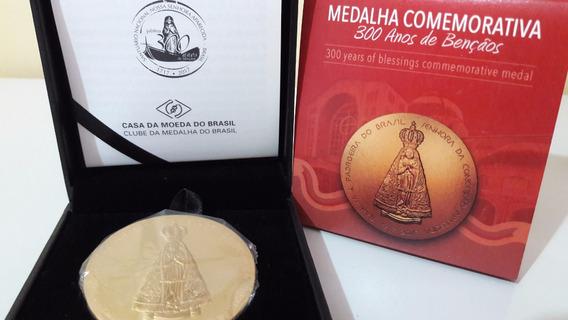 Medalha Rara Ouro Nossa Sra. Aparecida Festajubileu 300 Anos