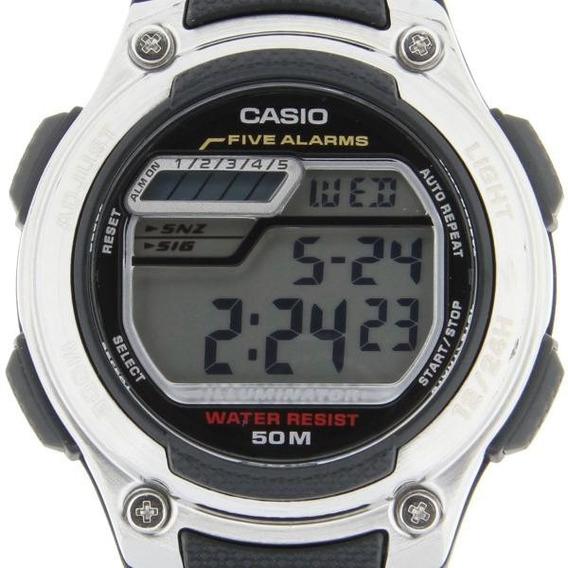 Relógio Casio W-212h-9a Cronômetro Pulseira De Resina Sport