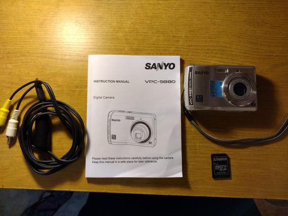 Camara Sanyo Vpc-s880 Excelente Estado Funciona Perfecto