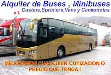Alquiler De Mini Van Custer Minibus Bus Buses Minivan .tours