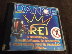 Cd Dance Do Rei - Ótimo Estado