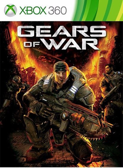 Gears Of War - Xbox 360 - Midia Digital