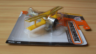 Matchbox Avion Mbx X2 On A Mission Skybusters Biplano